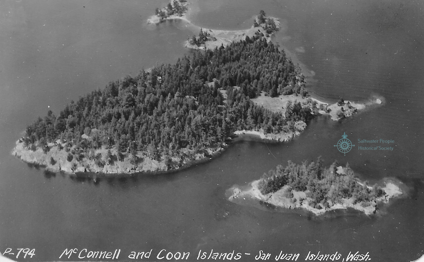 Saltwater People Log Mcconnell Island