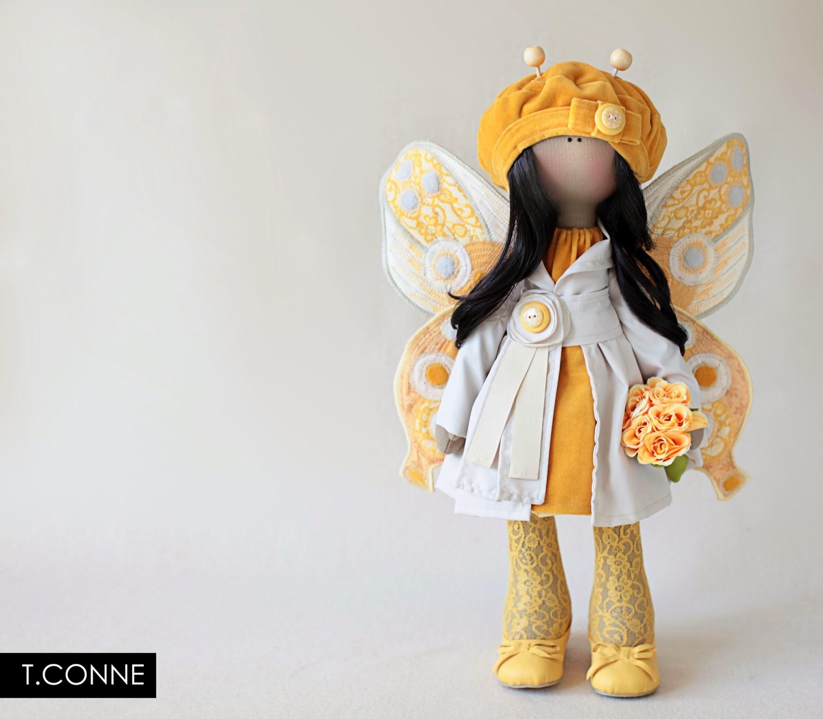 Как сшить крылья для куклы своими руками