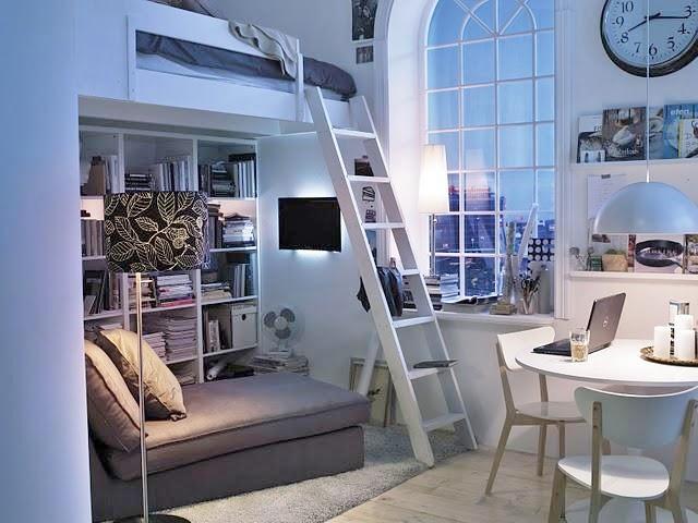 Decotips camas en altura soluciones para espacios Apartamentos con altillo