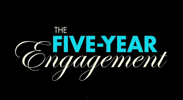 The Five-Year Engagement 2011 movie title romantic comedy film about long engagements and long distance love affair