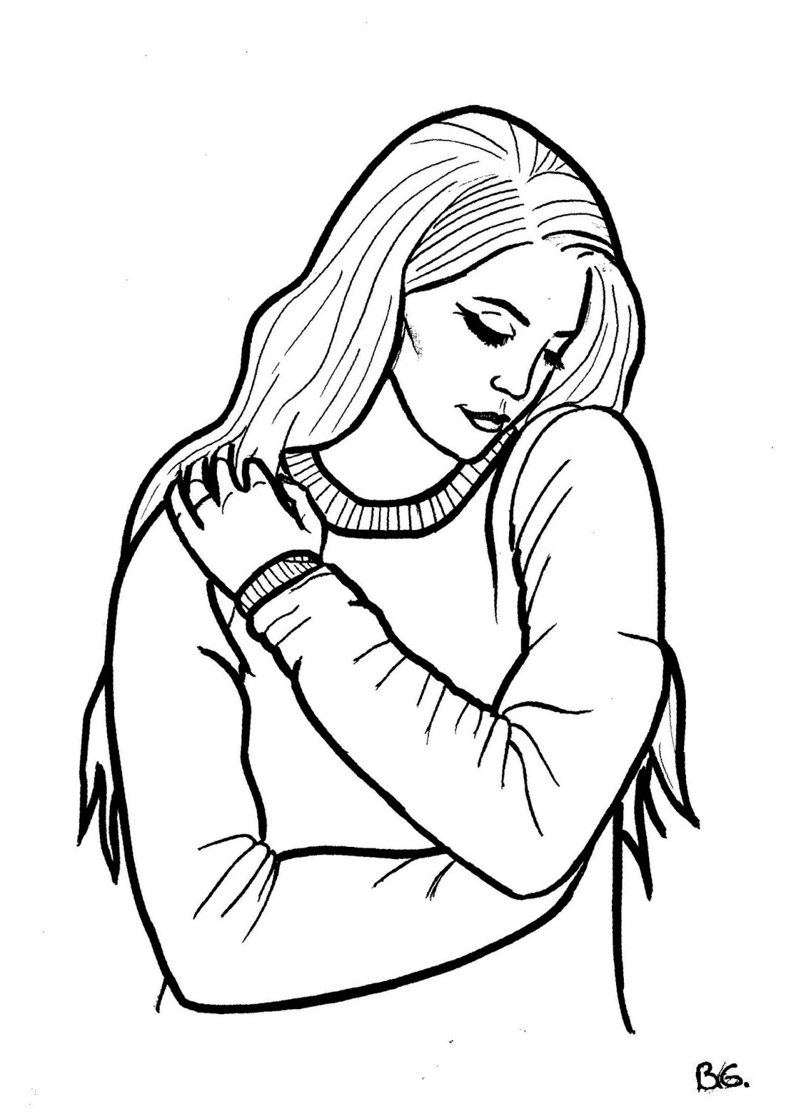 Melanie Martinez Free Coloring Pages