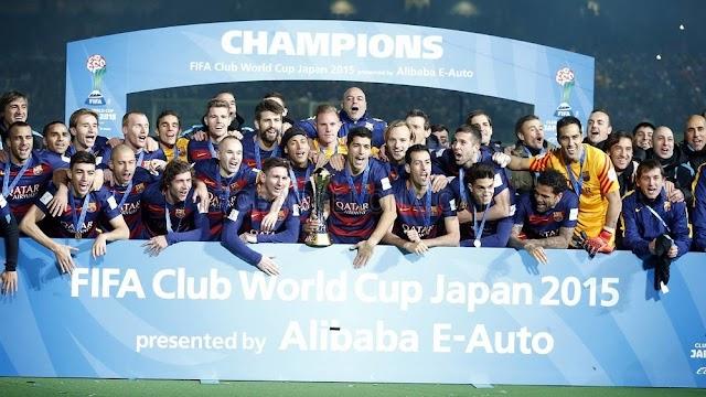 Tri#campion5 do mundo, MSN brilha e Barcelona arrasa River