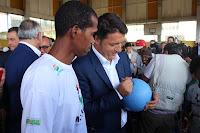 bezoek eerste minister Italie
