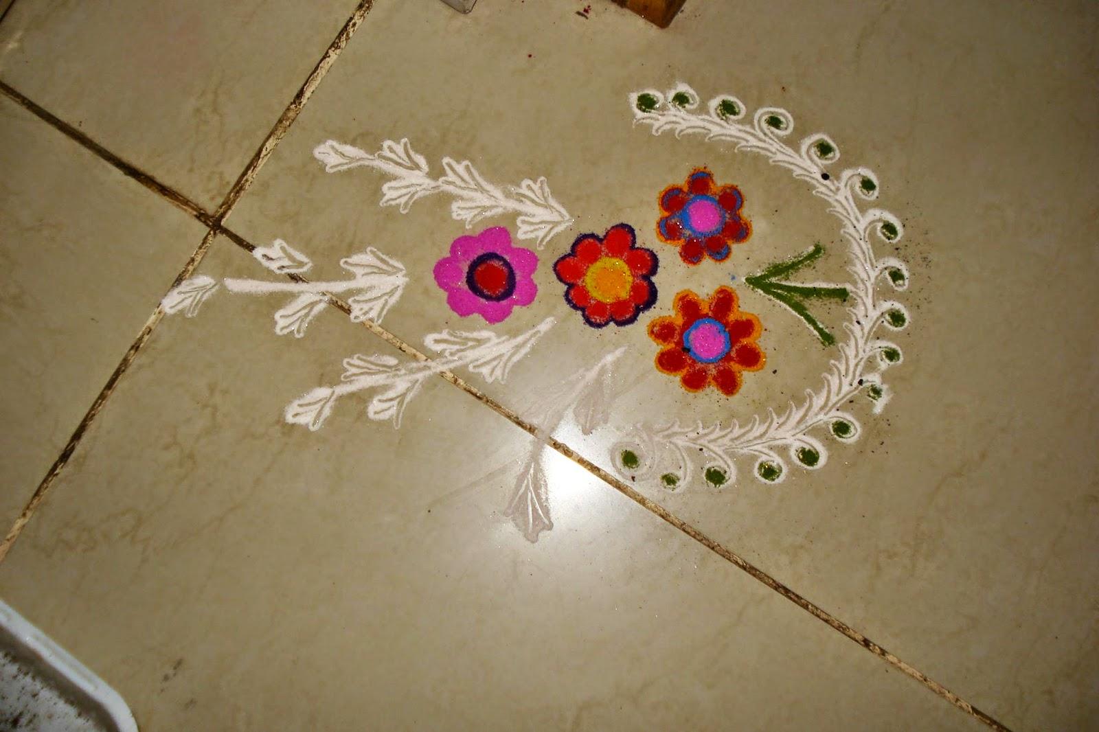 Kids Rangoli Designs 12