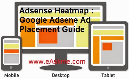 Adsense Heatmap : Google Adsene Ad Placement Guide : eAskme