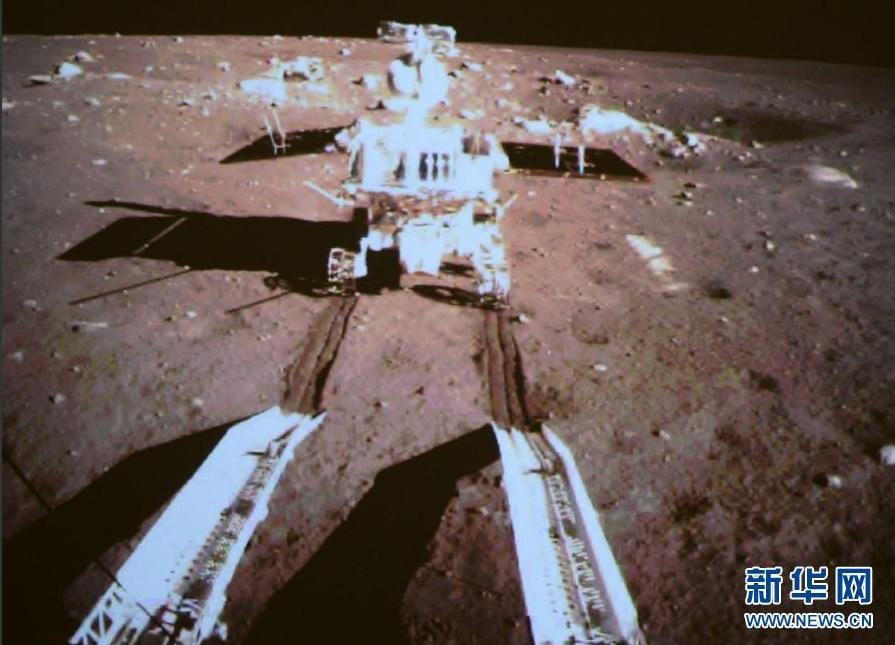 Chang'e-3 e Yutu, spettacolare video dell'atterraggio e le prime foto