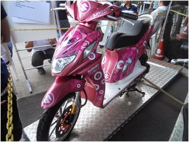 Modifikasi Motor Suzuki Nex Airbrush