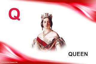 Q Is For Queen Kidtrix: April 2012