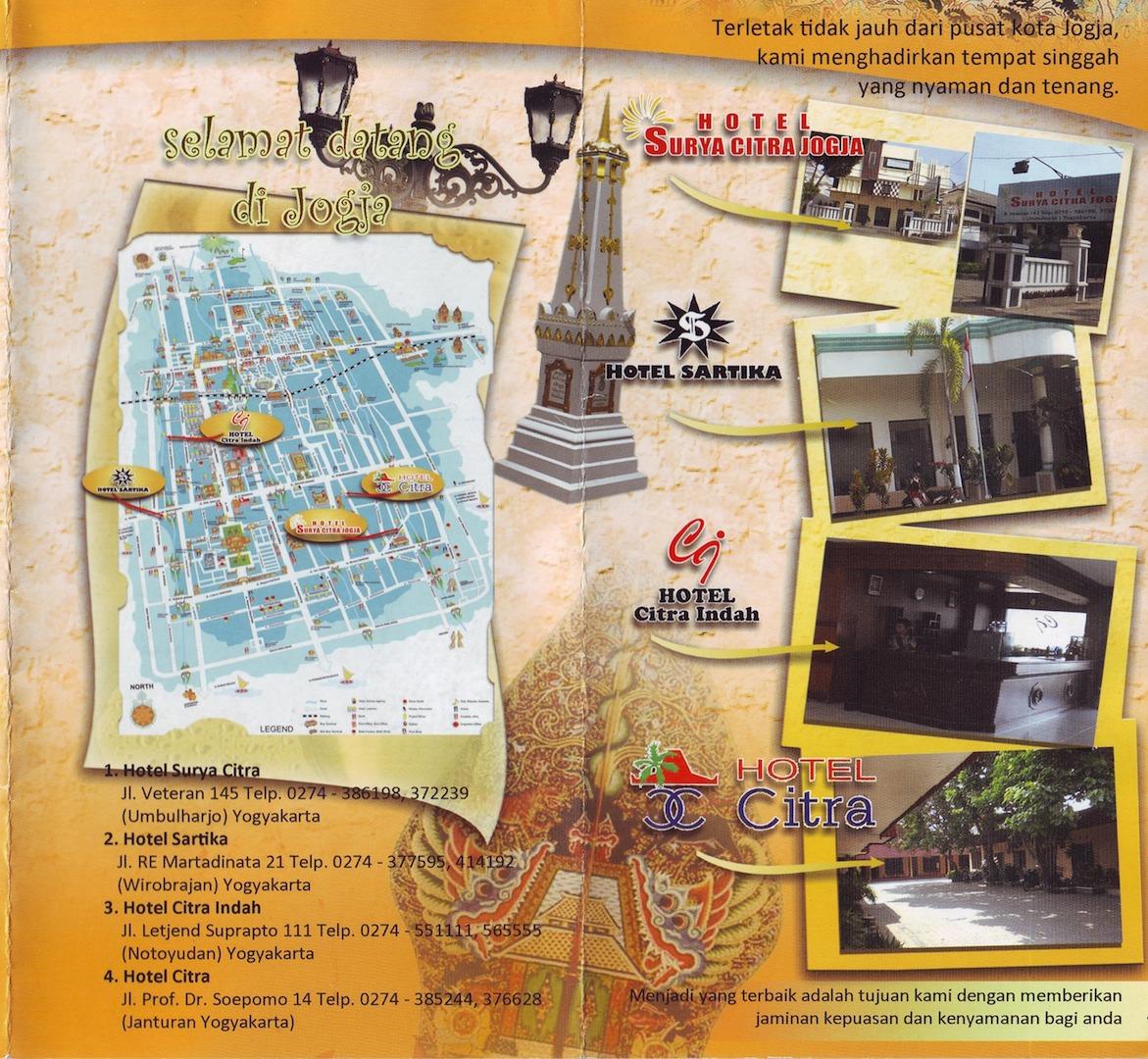 contoh-contoh brosur hotel menarik