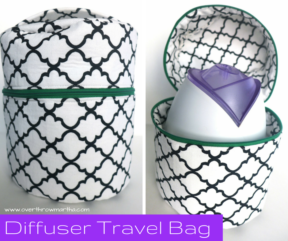 Travel Bag for Essential Oil Home Diffuser #yelo