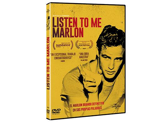 A la venta en DVD 'Listen to me Marlon'