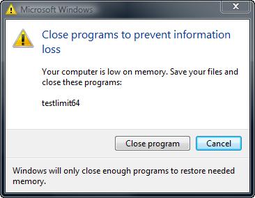 "Cara Mengatasi ""Your Computer Is Low on Memory"""