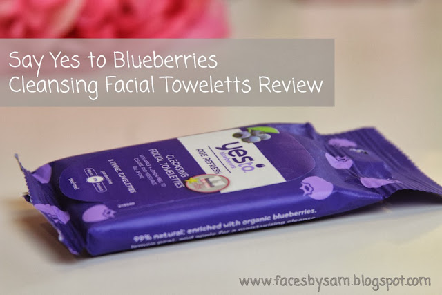Yes To Blueberries Cleansing Facial Towelettes