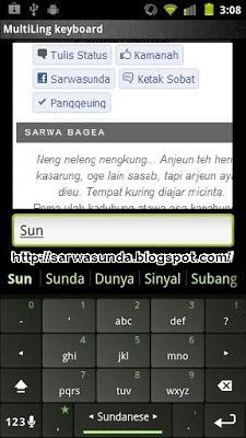 multiling keyboard sunda