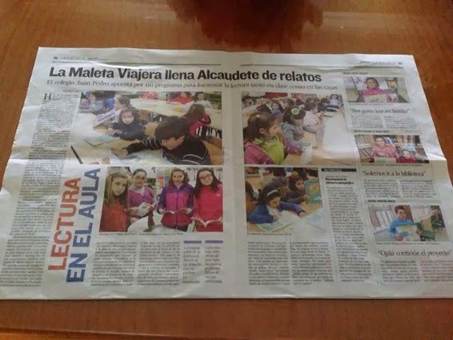 El diario Jaén nos dedica un amplio e ilustrativo reportaje.