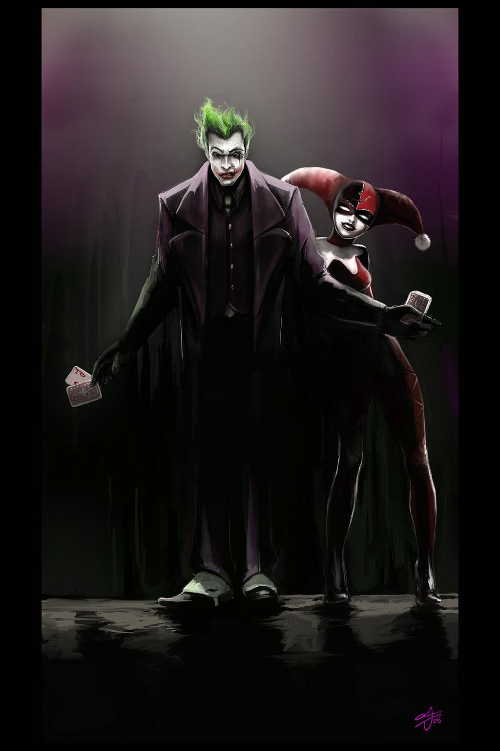 Joker And Harley Quinn Wedding Cake