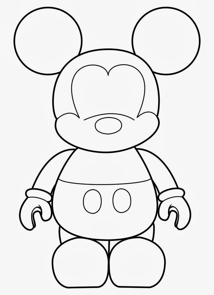 Mickey Template Is It For PARTIES FREE