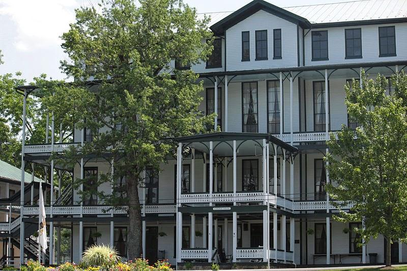 Virginia House Orkney Springs Hotel, Virginia http://jollettetc.blogspot.com