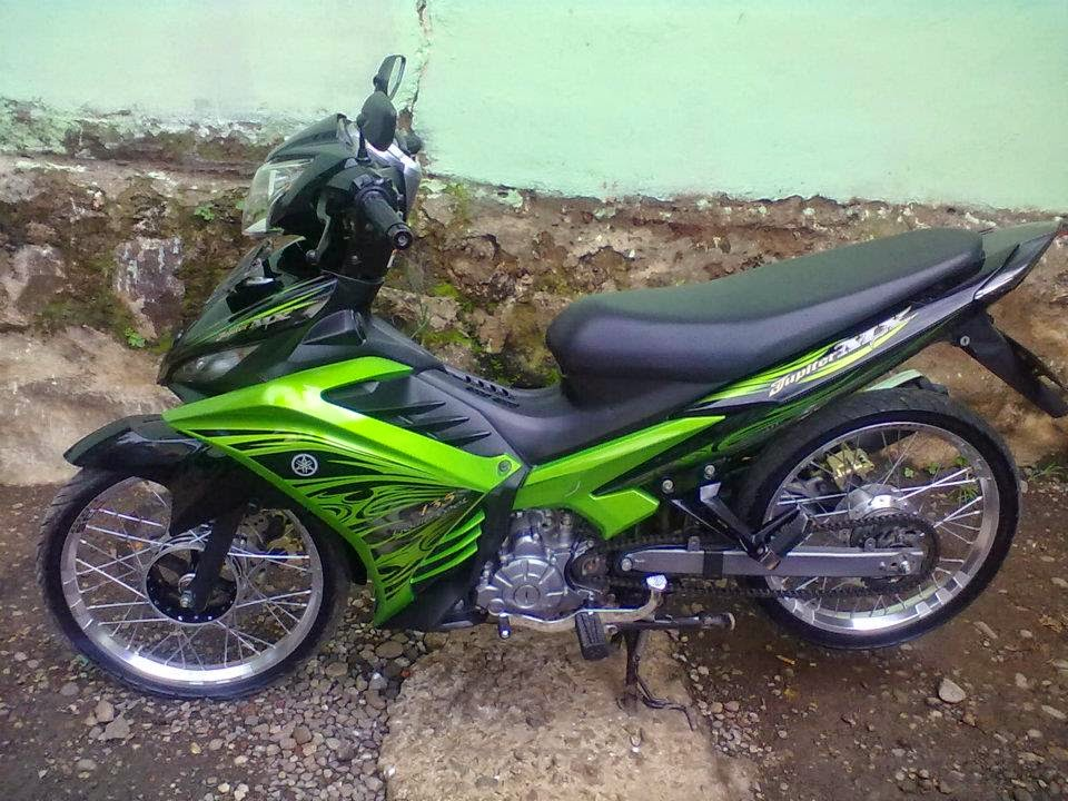 modifikasi motor jupiter mx 5 speed terpopuler