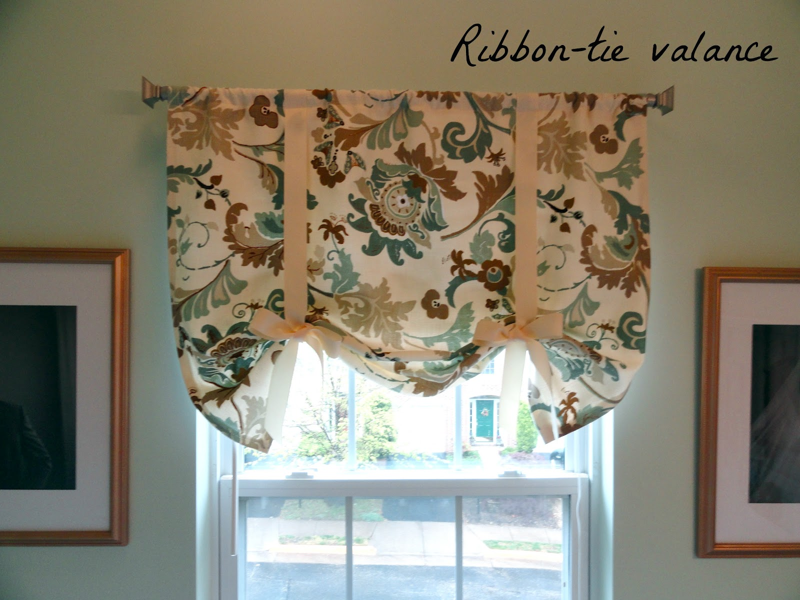 decor modern home valance best affordable kitchen patterns