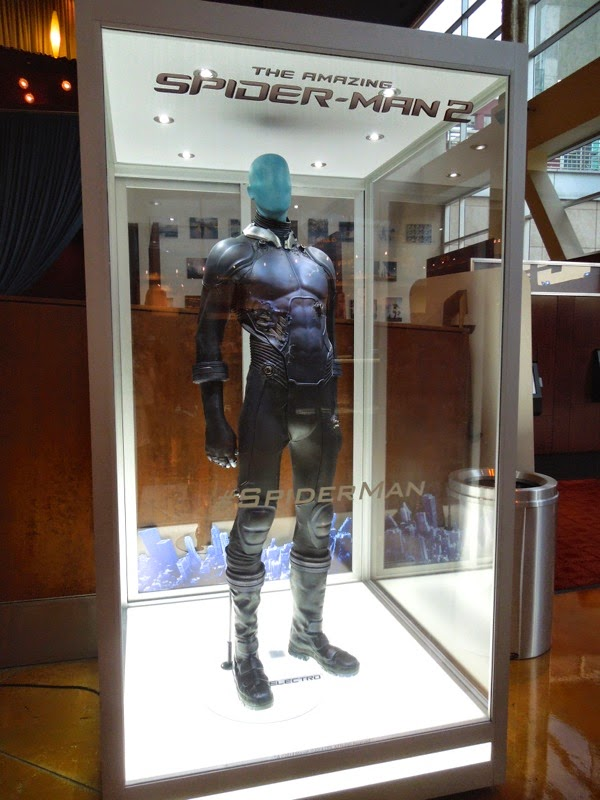 Amazing Spider-man 2 Electro film costume