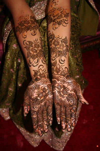 Mehndi Designs Dulhan : Mehndi style dulhan designes