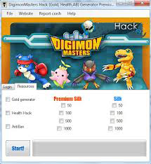 Digimon Masters Online Hack Download Free 2013