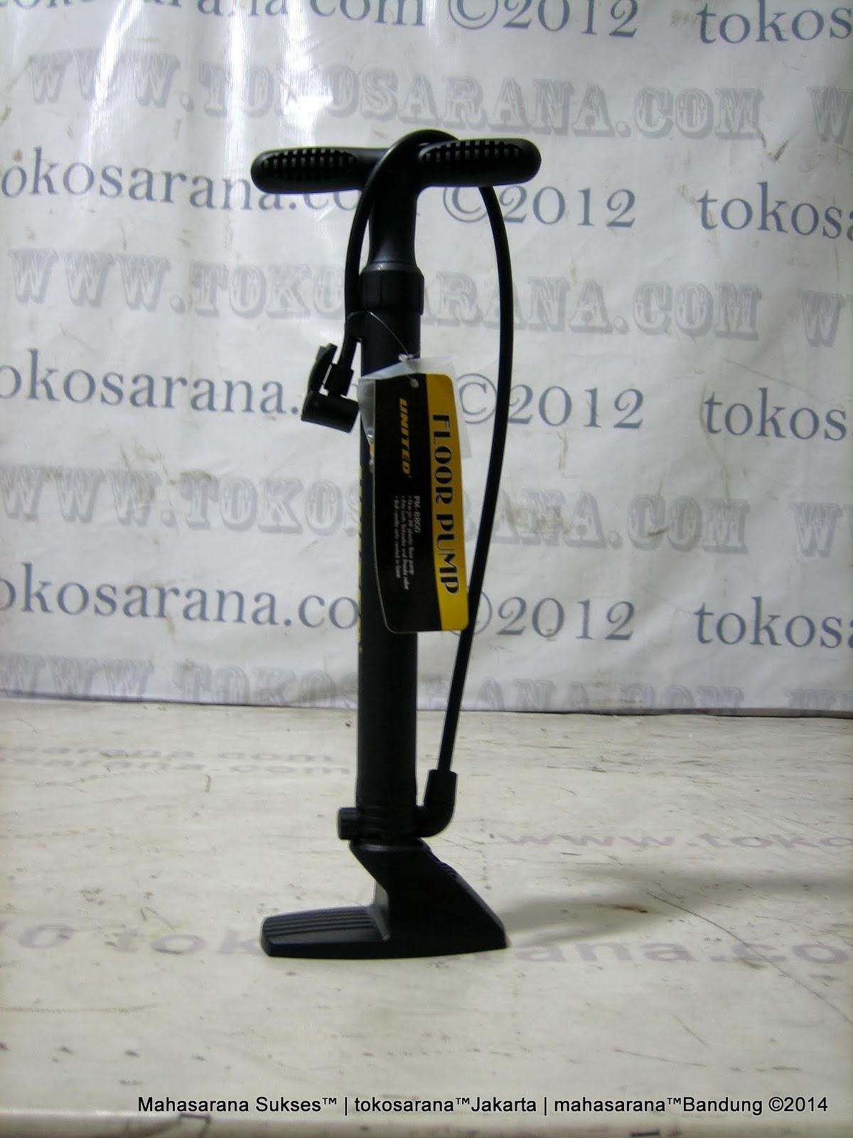 Pompa Sepeda United Component PM880 Floor Pump