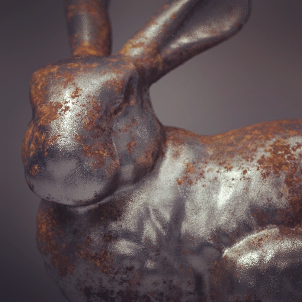 Creating A Realistic Rusty Metal Material With V Ray 3