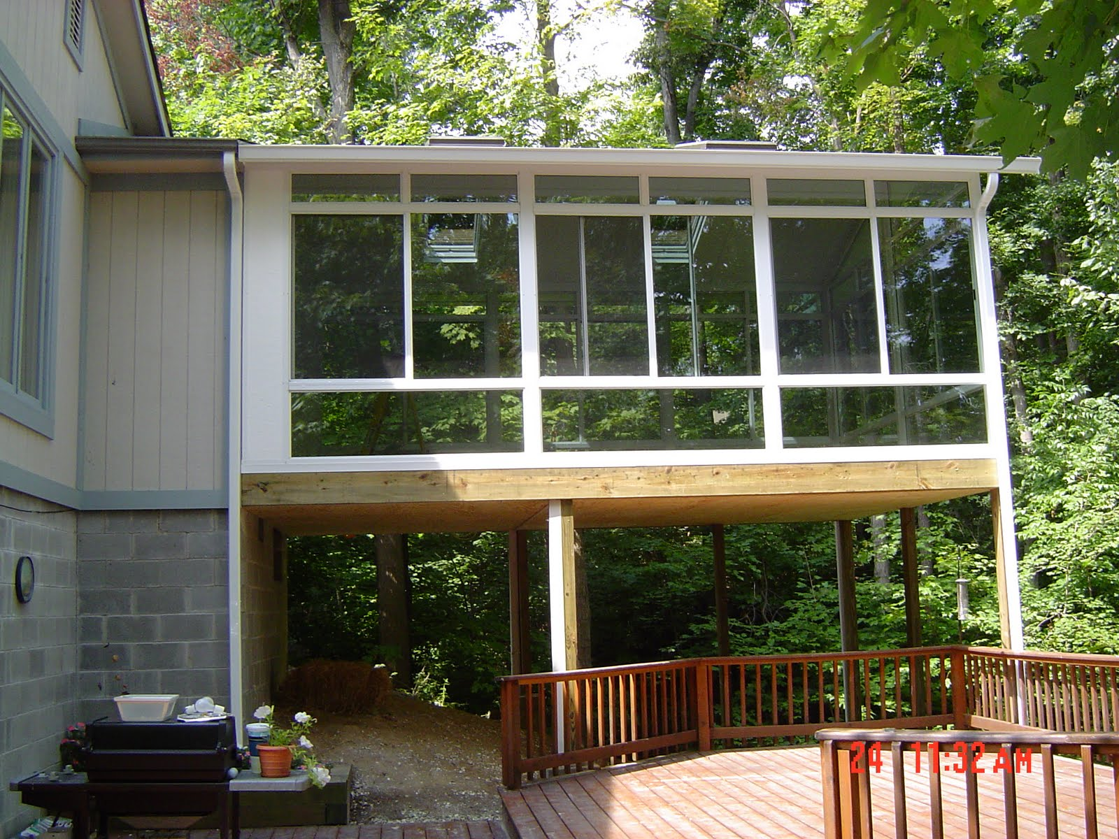 dallas beewindow elevated 2nd floor sunroom no problem