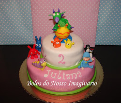 BOLO ANIVERSRIO BABY TV