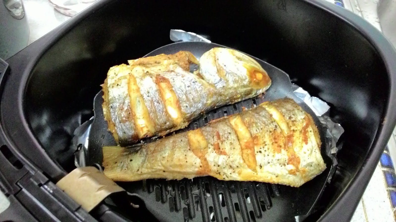 my cooking recipe air fryer threadfin fish