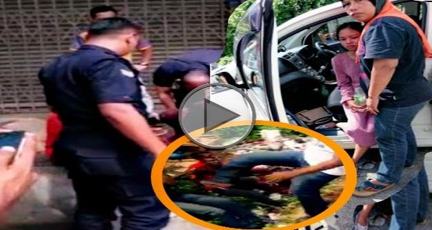 VIDEO & GAMBAR - Lelaki India LUNYAI Dibelasah Cubaan Merogol Gadis Melayu