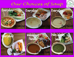 Our Soup Choices!! + New Soup~ SUP TULANG!!