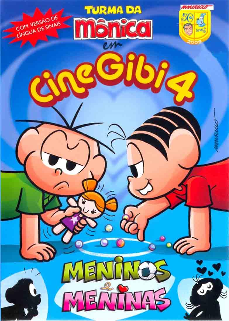 A Turma Da Monica Cine Gibi 4 Meninos e Meninas Nacional