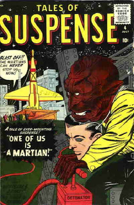 Tales of Suspense #4, one of us is a Martian