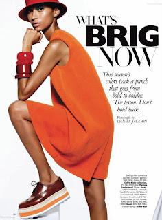 Rose Cordero, Ataui Deng, Nyasha Matonhodze, Jeneil Williams pour Harper's Bazaar US