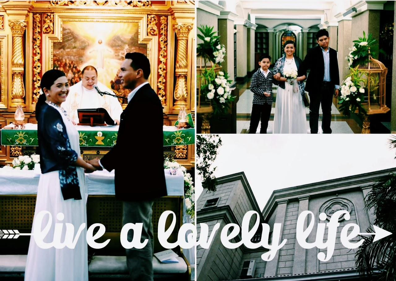 Here Are Some Of The Photos From Their Simple Intimate But Lovely Wedding