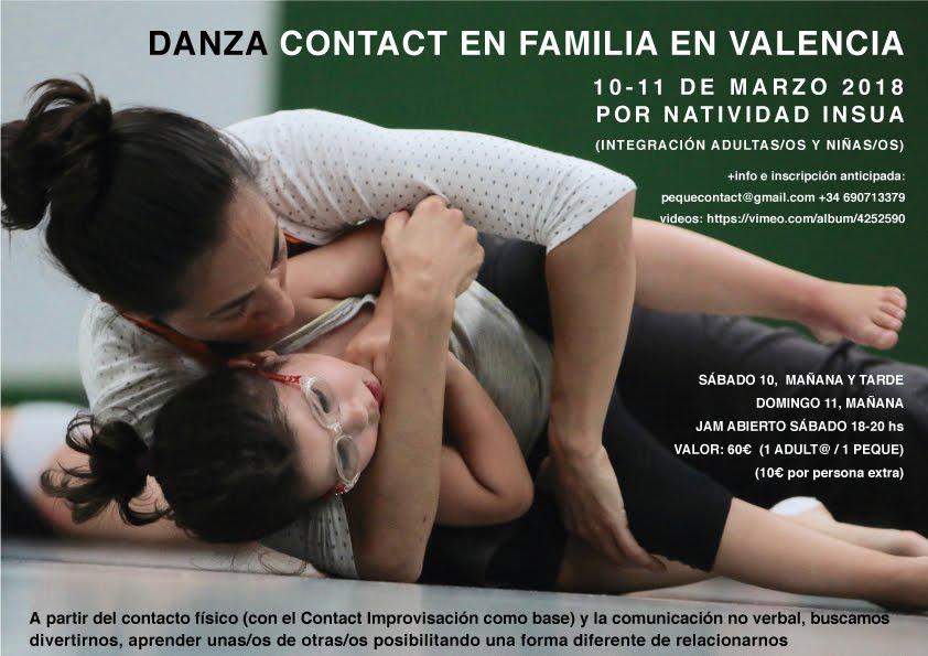 Contact en Familia (integración adulto/as niño/as)