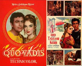 Quo Vadis (1951) - Cartel de cine