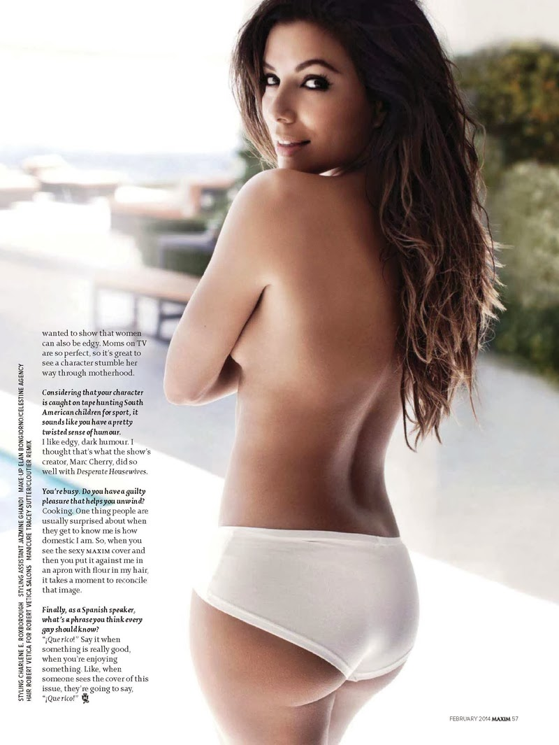 Eva Longoria HQ Pictures Show India Magazine Photoshoot February 2014