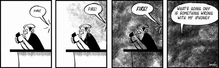 Rudy Park: Fire!