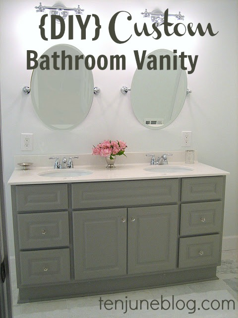 Ten June Diy Custom Bathroom Vanity