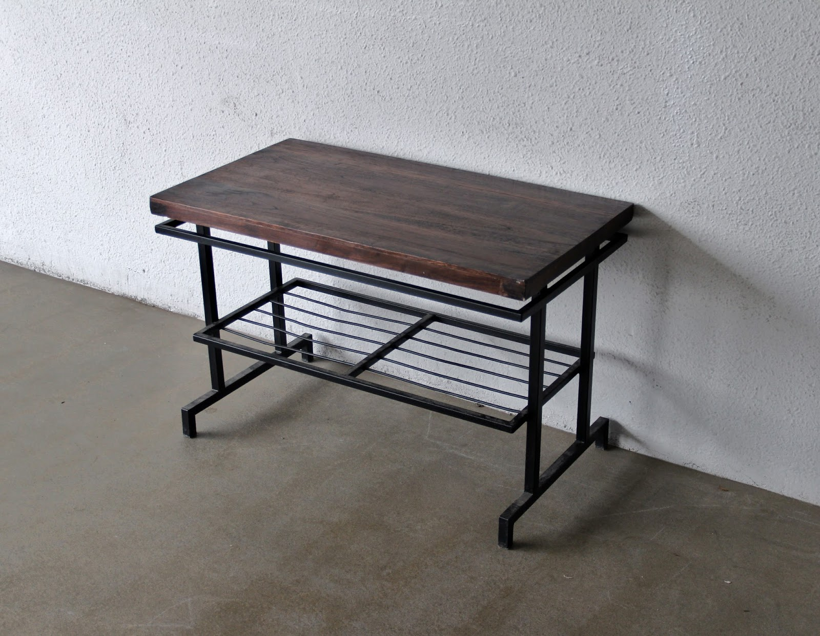Second Charm Collections Combining Metal And Wood For That Industrial Look Bobs Furniture