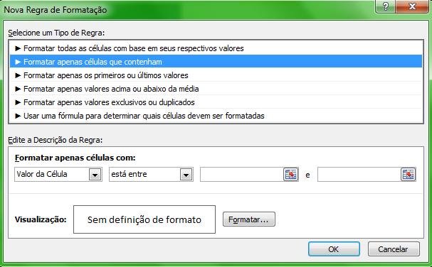 Como fazer a formatação condicional no Excel - Curso de excel básico