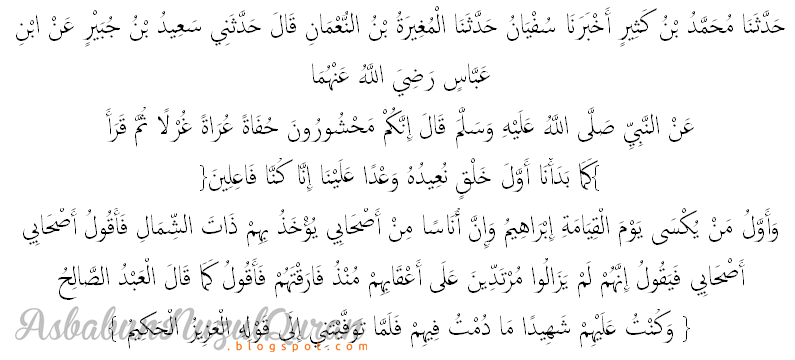 Qur'an Surat al Ma'idah ayat 117-118