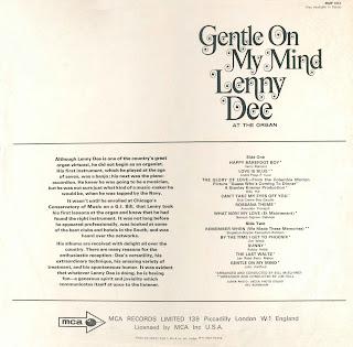 Lenny Dee Happy Hammond