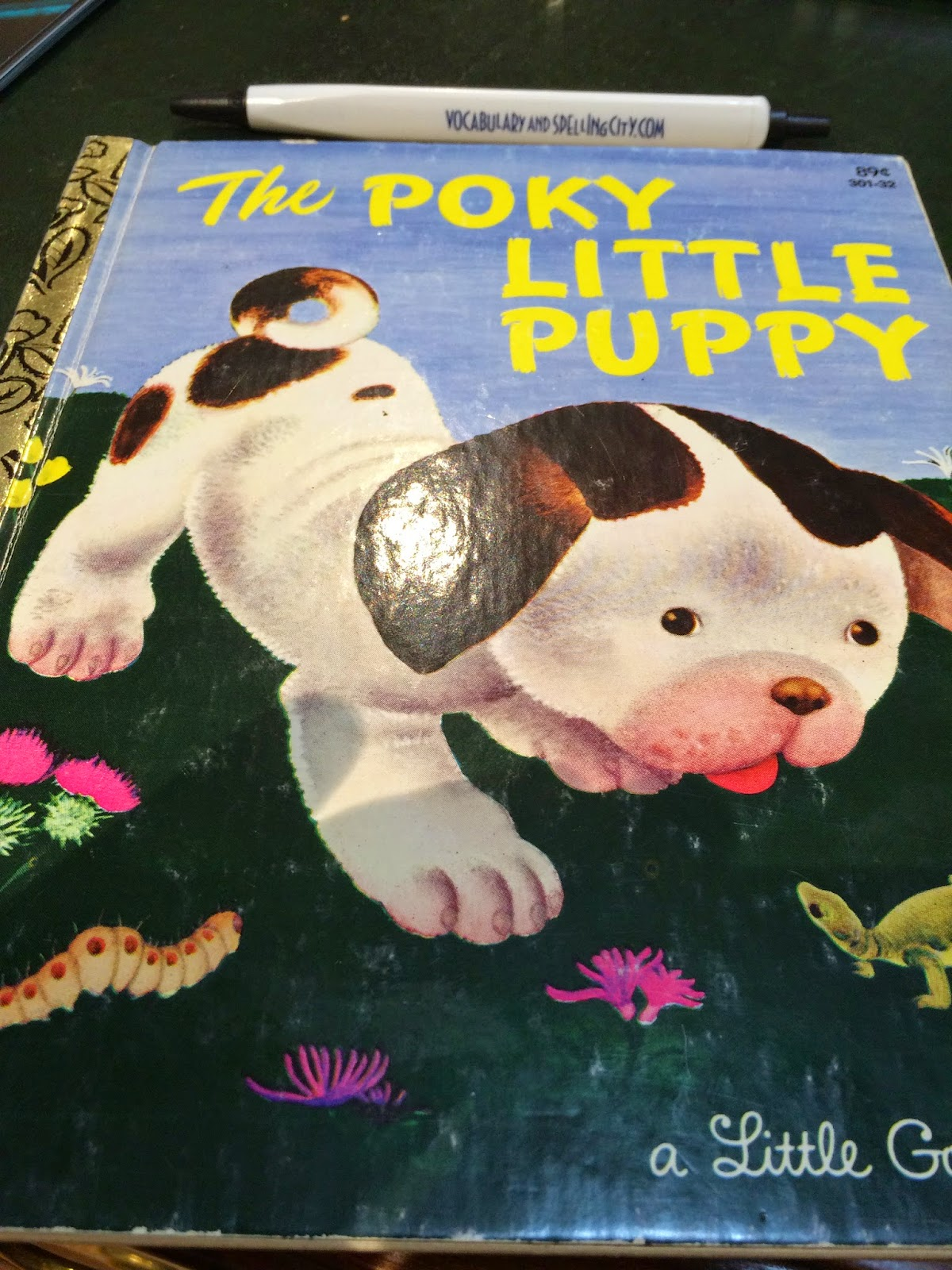 Poky Little Puppy Golden Book