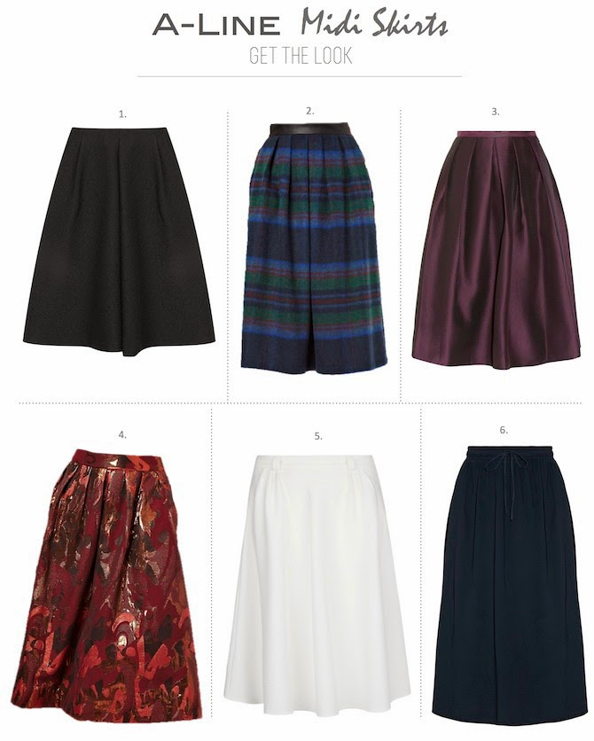 Frankie hearts fashion craving a line midi skirts