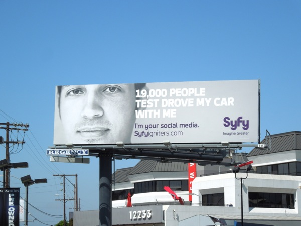Syfy Igniters billboard